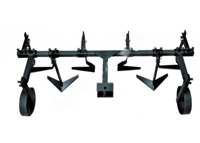 Плоскорез 2 рядный (с опорными колесами) - Фото 1