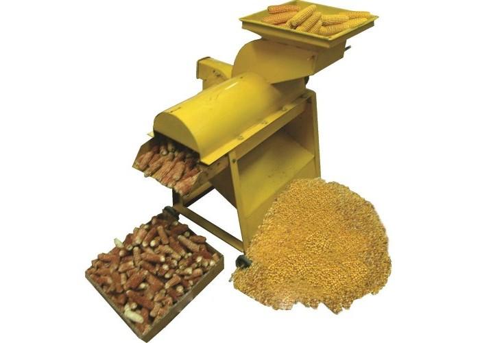 Молотилка кукурузных початков 5TY-4.5 Д (с двигателем) - Фото 1